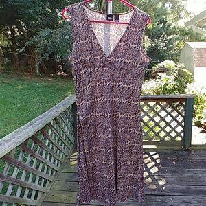 Mossimo animal print dress